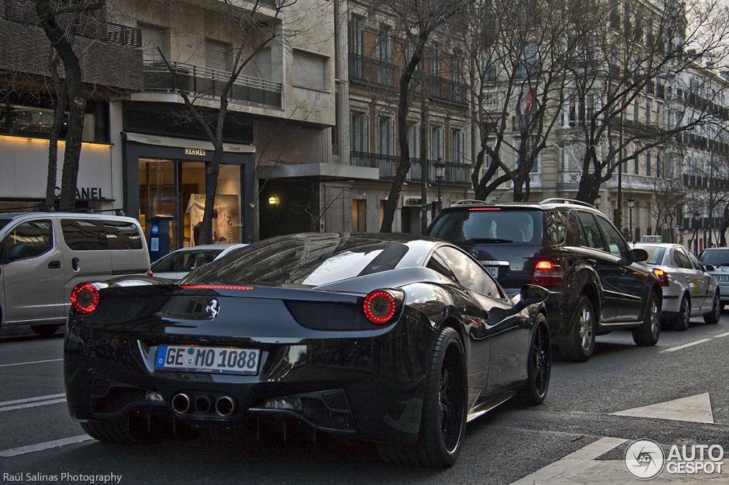 Ferrari 458 Black Carbon Edition