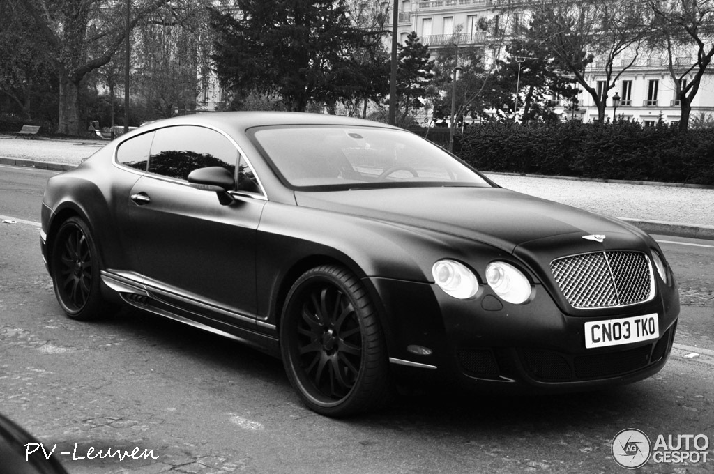 Bentley Wald Continental Gt Black Bison Edition 3 April
