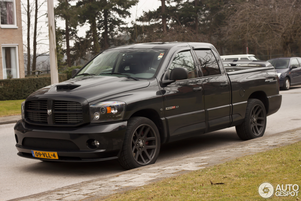 Dodge Ram Srt 10 Quad Cab Night Runner 4 April 2012
