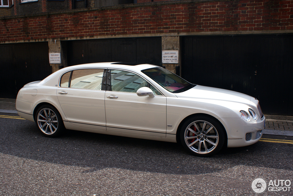 Bentley Continental Flying Spur Speed Arabia Special Edition