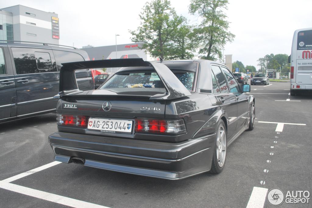 Mercedes benz 190e 2 5 16v evo ii 16 mai 2012 autogespot for Mercedes benz 190e 2 5 16 evolution ii for sale