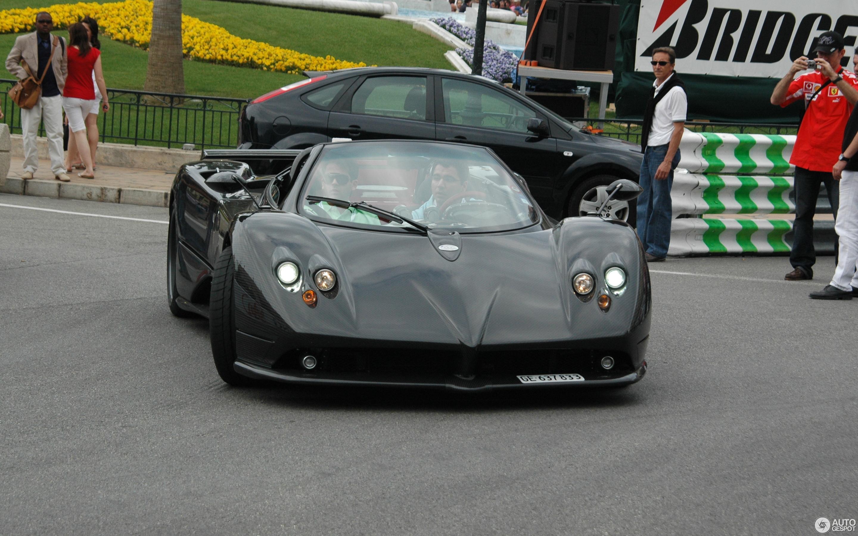 pagani zonda c12-f roadster - 20 mai 2012 - autogespot
