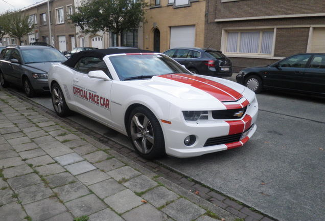 Chevrolet Camaro SS Convertible Indy 500 Pace Car
