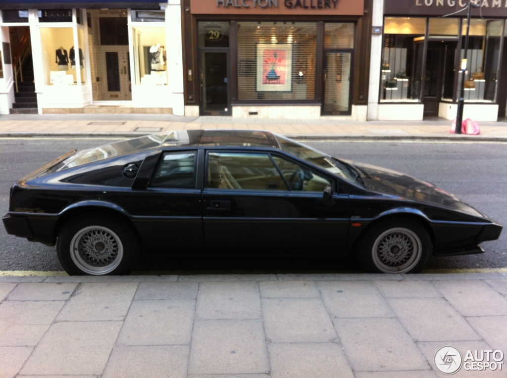 Lotus Esprit 2018 >> Lotus Esprit S3 - 3 July 2012 - Autogespot