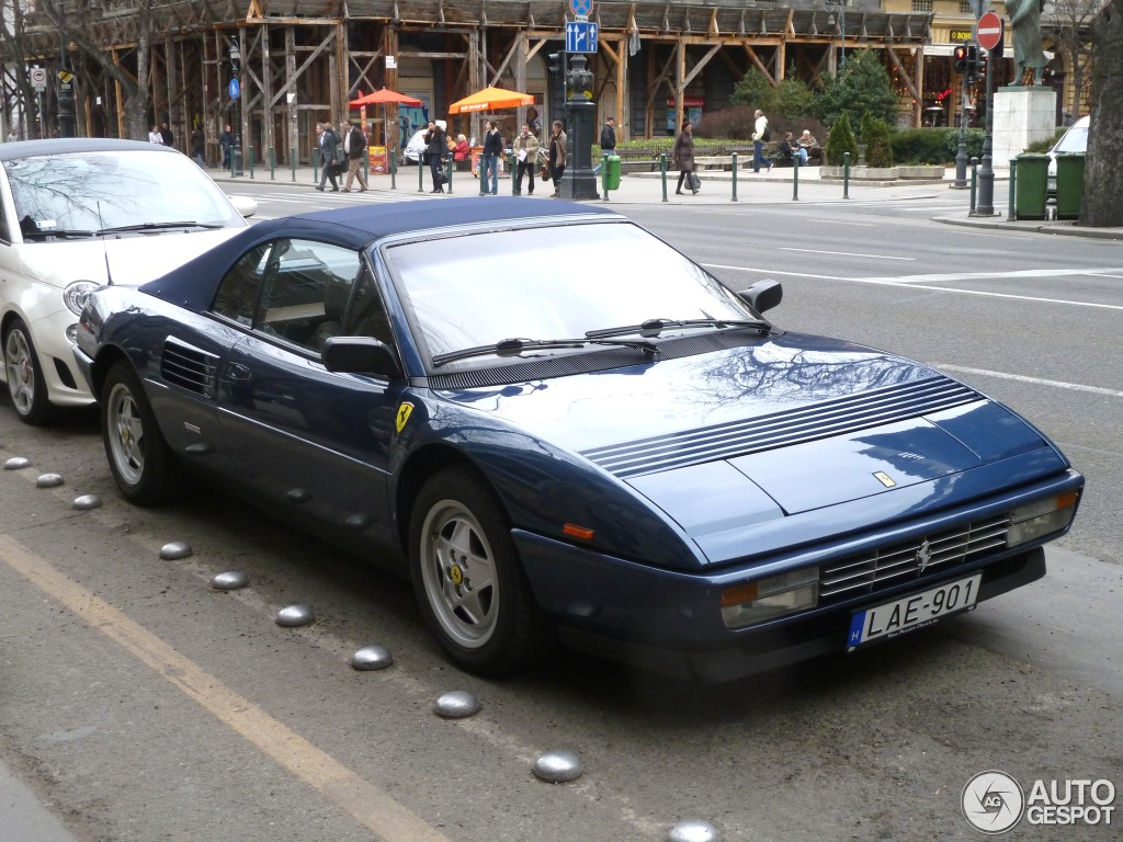 ferrari mondial t cabriolet 3 juillet 2012 autogespot. Black Bedroom Furniture Sets. Home Design Ideas