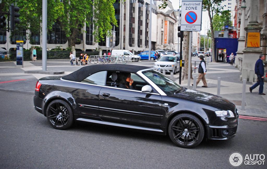 Audi Rs4 Cabriolet 5 July 2012 Autogespot