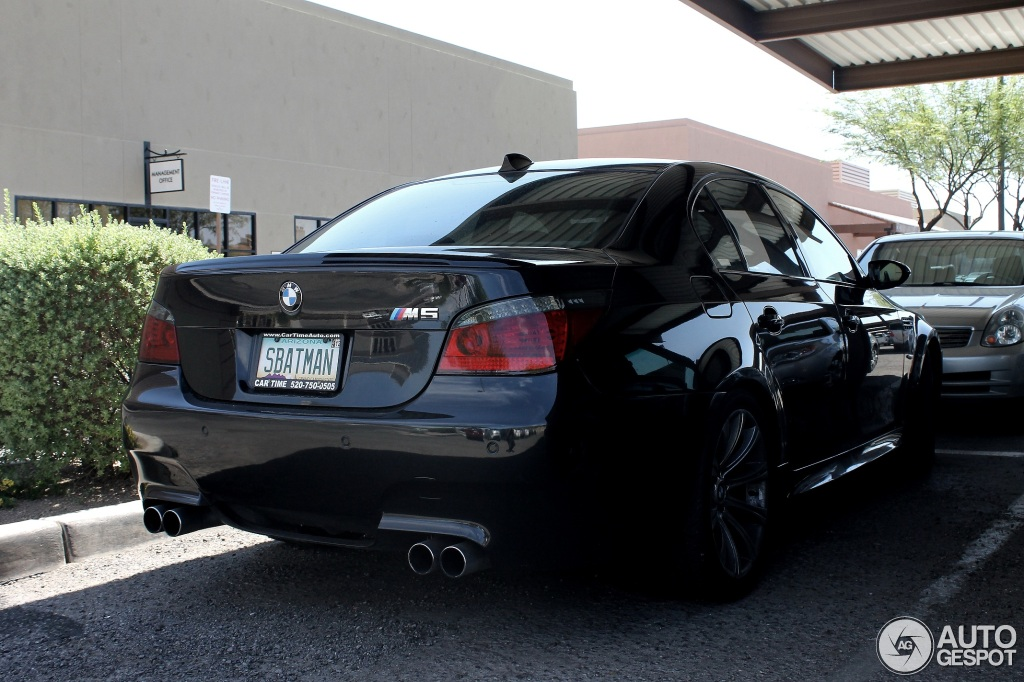 Bmw M5 E60 2005 8 July 2012 Autogespot
