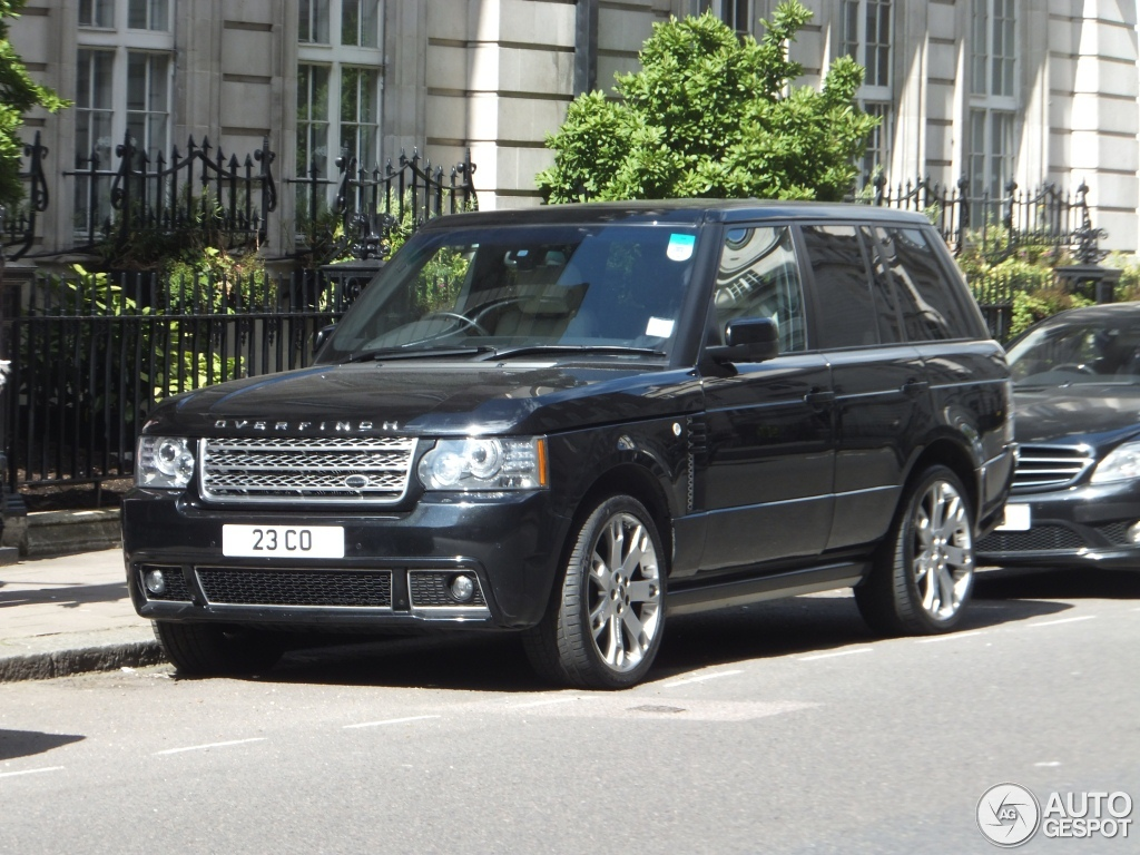 land rover overfinch range rover autobiography 20 july 2012 autogespot. Black Bedroom Furniture Sets. Home Design Ideas