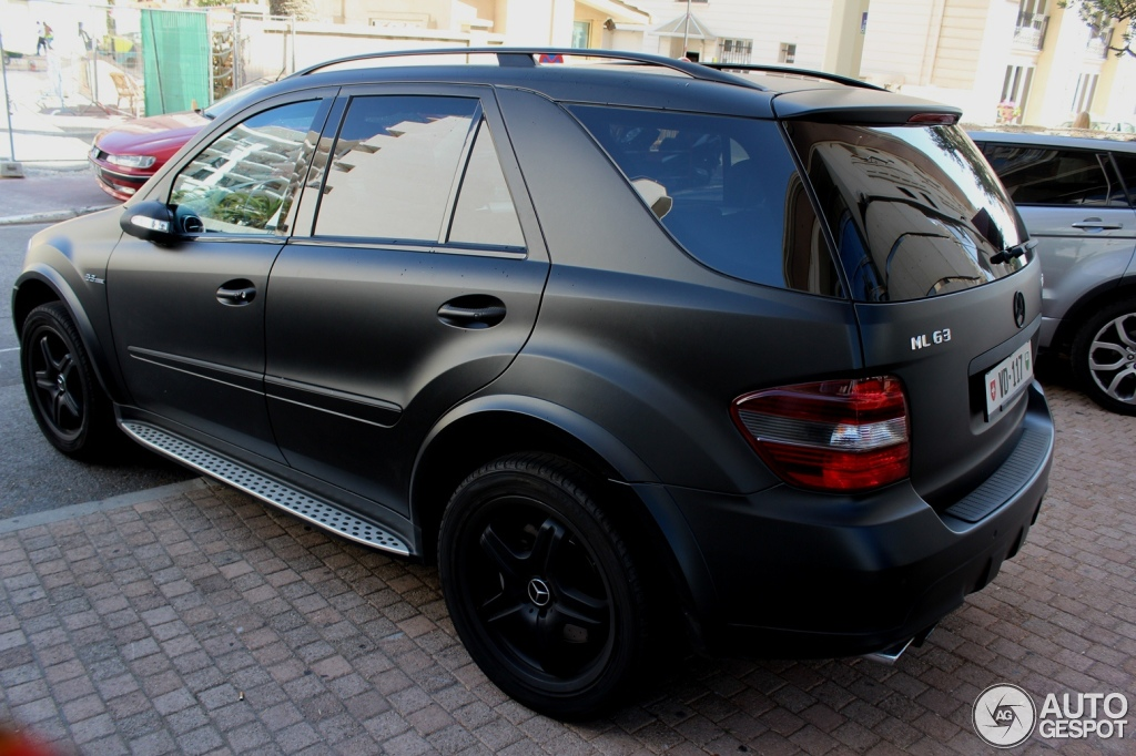 Mercedes Benz Ml 63 Amg W164 27 July 2012 Autogespot