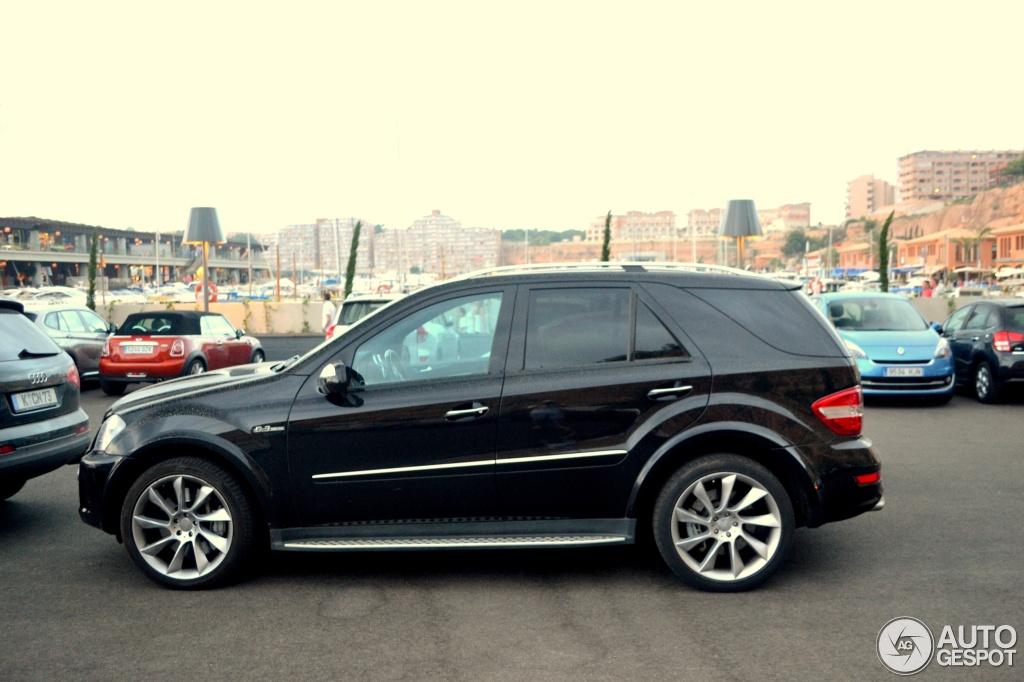 Mercedes Benz Ml 63 Amg W164 2009 30 Lipiec 2012