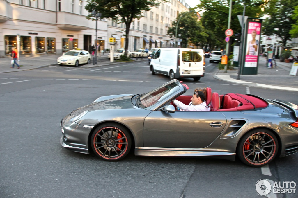 Porsche 997 Turbo Cabriolet by TC Concepts - 17 August ...