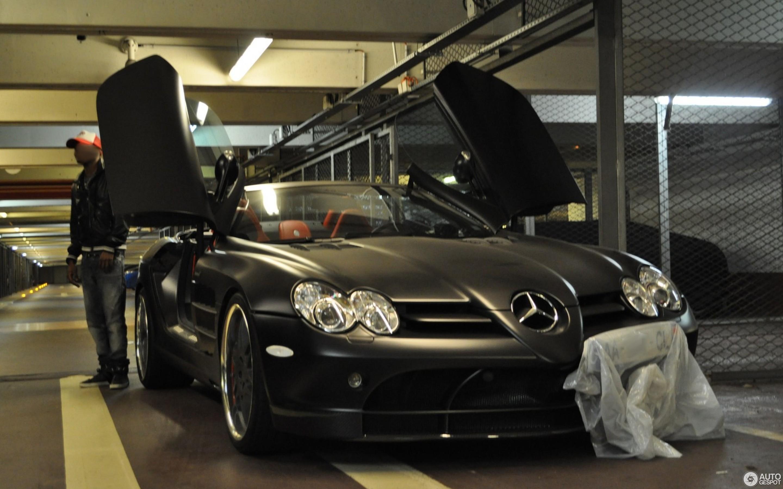 mercedes-benz brabus slr mclaren roadster - 20 august 2012 - autogespot