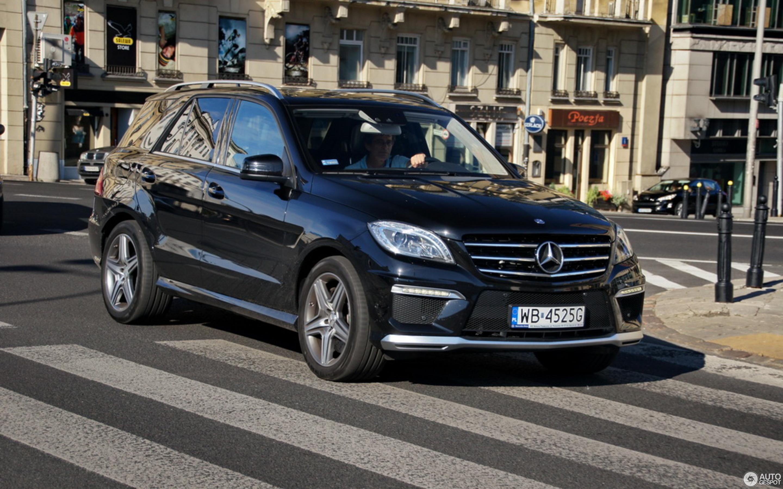 Mercedes Benz ML 63 AMG W166 24 August 2012 Autogespot