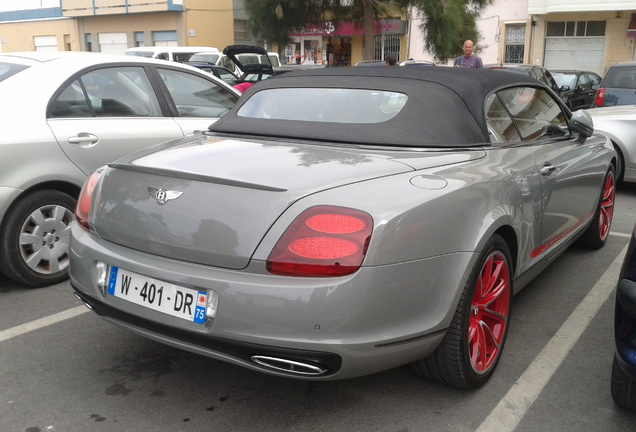 Bentley Continental Supersports Convertible ISR