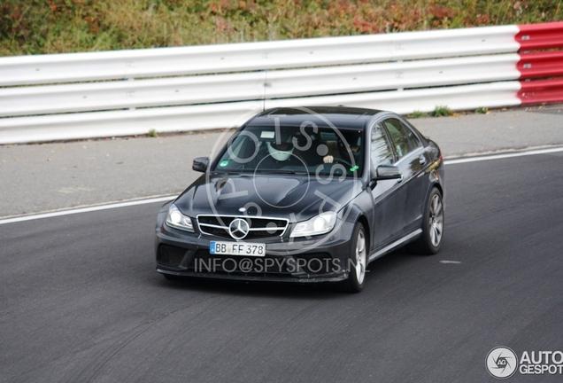 Mercedes-AMG C 63 W205 Mule