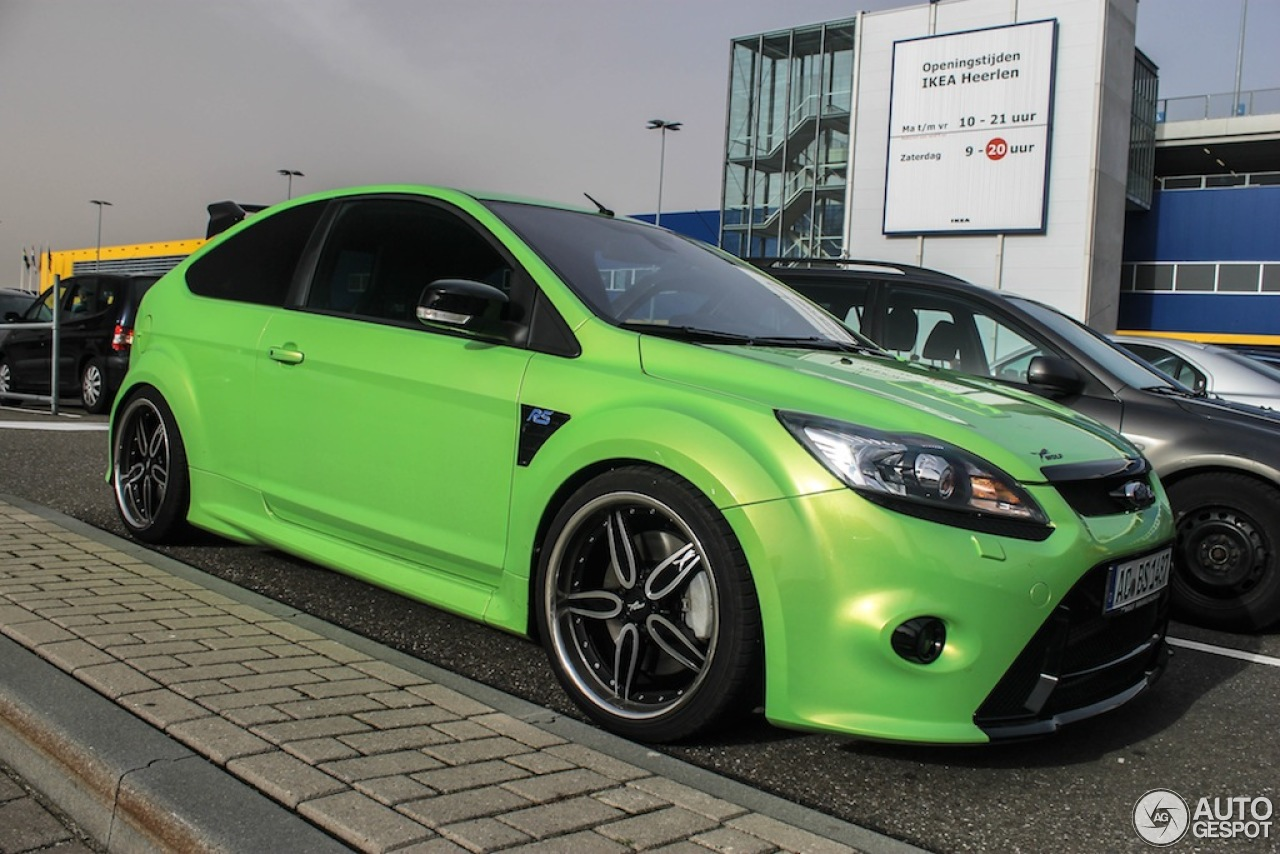 Ford Focus Rs 2009 Wolf Racing 21 October 2012 Autogespot