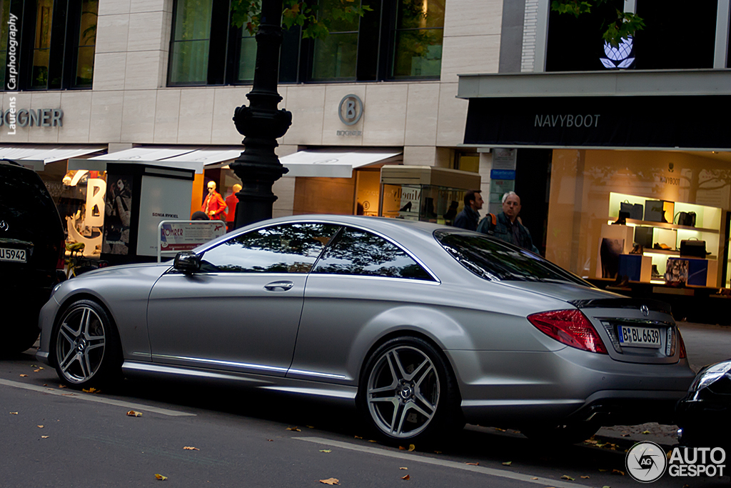 mercedes benz cl 63 amg c216 2011 6 november 2012 autogespot. Black Bedroom Furniture Sets. Home Design Ideas