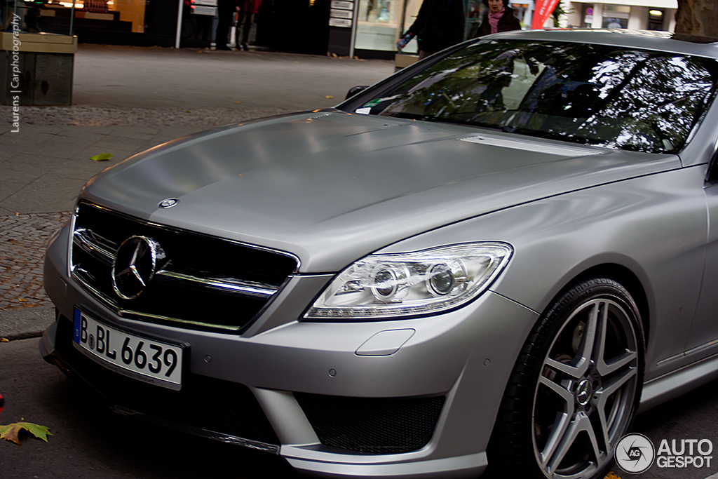 Mercedes benz cl 63 amg c216 2011 6 november 2012 for 2012 mercedes benz cl63 amg