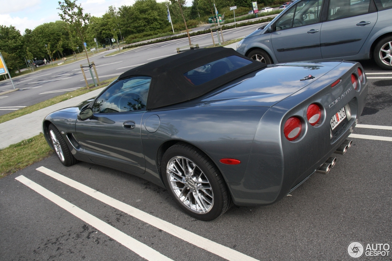 Chevrolet Corvette C5 Convertible 8 November 2012