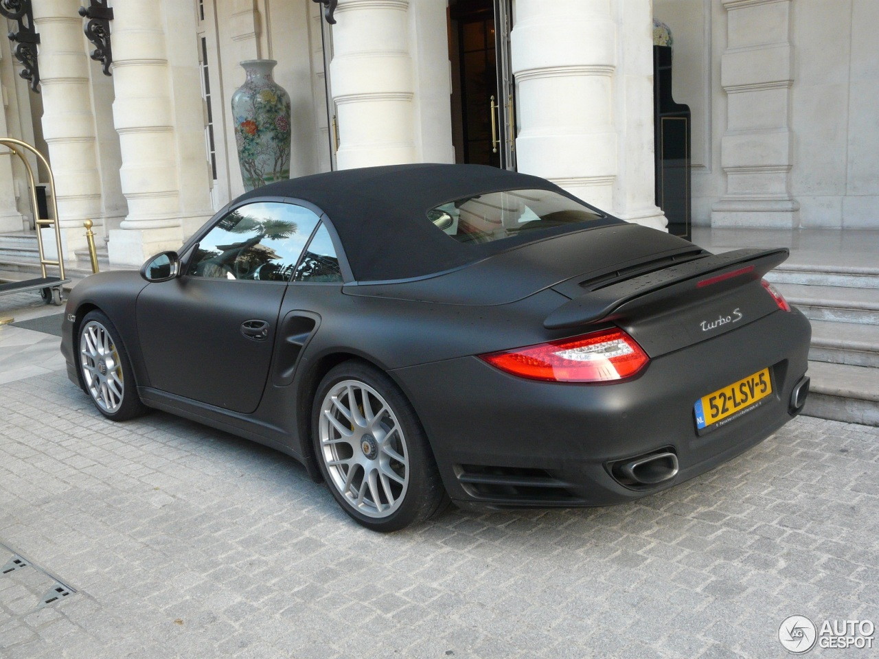 porsche 997 turbo s cabriolet 11 november 2012 autogespot. Black Bedroom Furniture Sets. Home Design Ideas