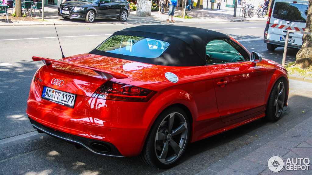 Audi Tt Rs Roadster 18 November 2012 Autogespot