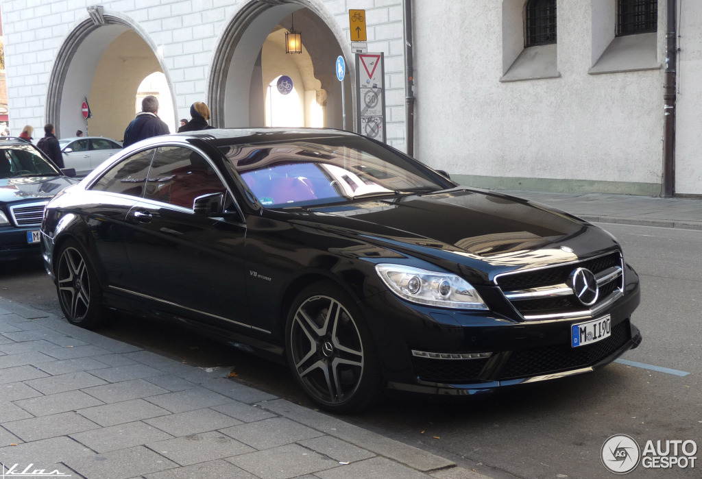 Mercedes Benz Cl 63 Amg C216 2011 18 November 2012