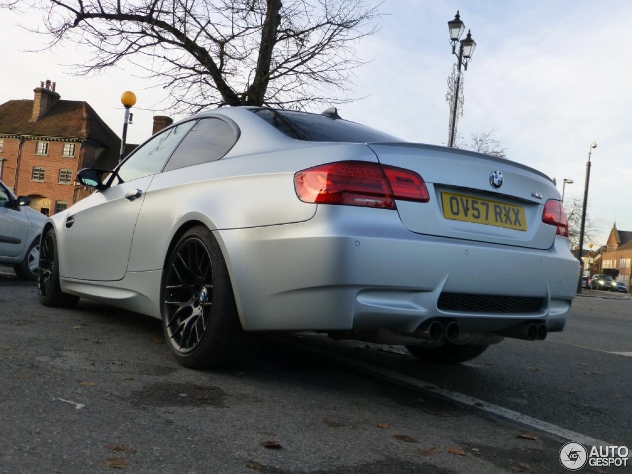 BMW M3 E92 Coupé Frozen Silver Edition - 19 November 2012 ...