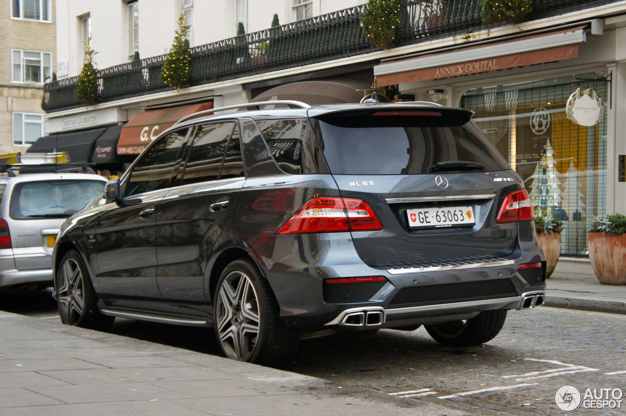 mercedes benz ml 63 amg w166 19 november 2012 autogespot. Black Bedroom Furniture Sets. Home Design Ideas