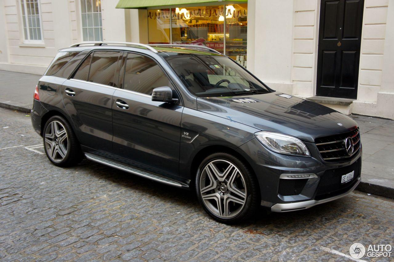 Mercedes Benz Ml 63 Amg W166 19 November 2012 Autogespot