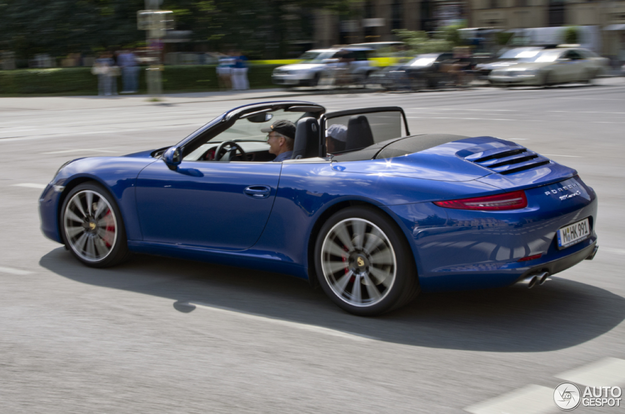 porsche 991 carrera s cabriolet 20 november 2012 autogespot. Black Bedroom Furniture Sets. Home Design Ideas