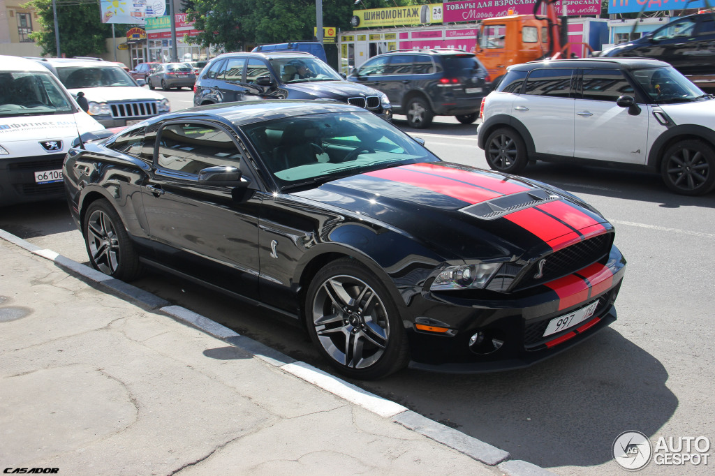 ford mustang shelby gt500 2010 25 novembre 2012 autogespot. Black Bedroom Furniture Sets. Home Design Ideas
