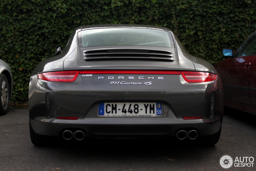 porsche 991 carrera 4s 27 novembre 2012 autogespot. Black Bedroom Furniture Sets. Home Design Ideas