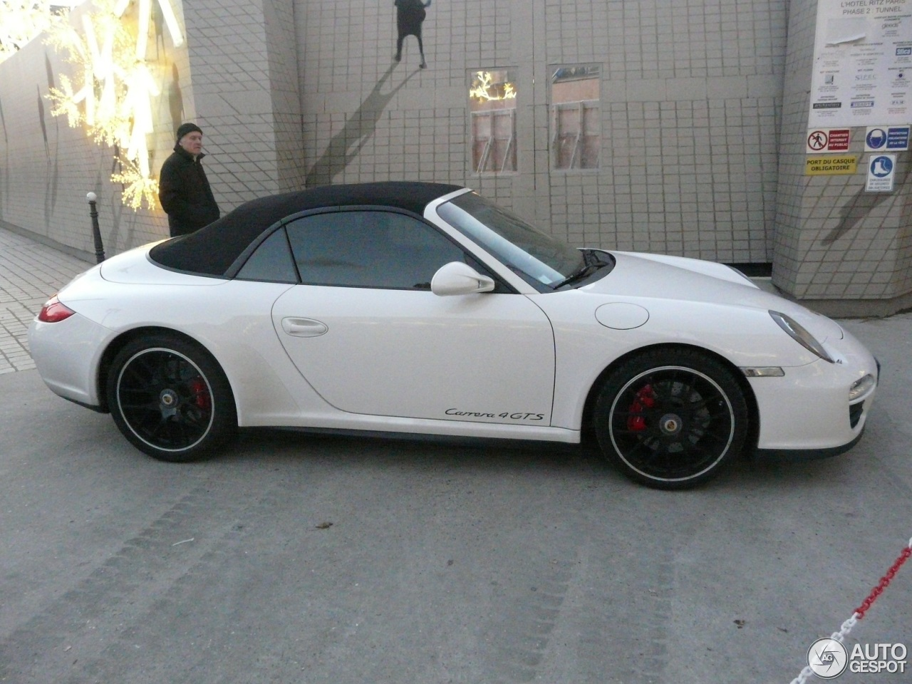 porsche 997 carrera 4 gts cabriolet 6 december 2012 autogespot. Black Bedroom Furniture Sets. Home Design Ideas