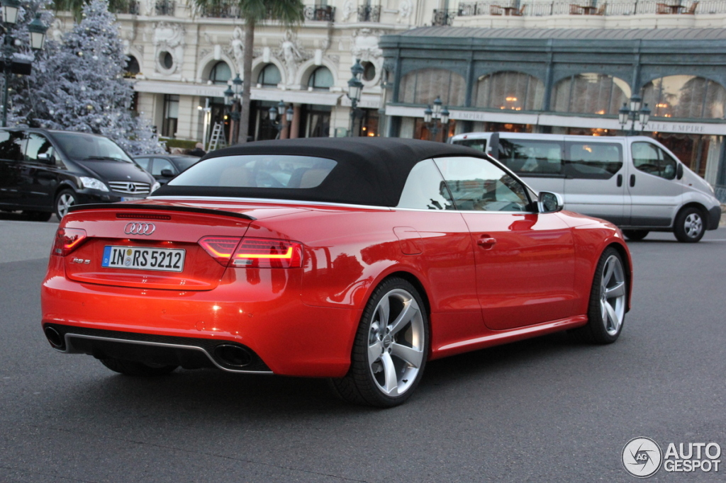 Audi Rs5 Cabriolet B8 9 December 2012 Autogespot