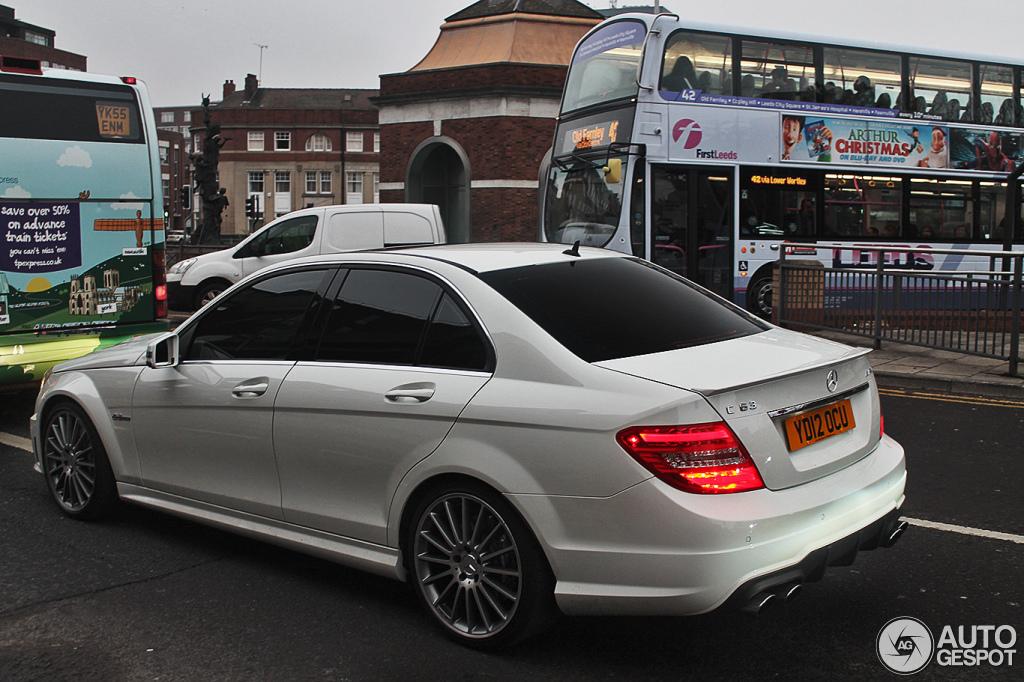 Mercedes benz c 63 amg w204 2012 12 dezember 2012 for Mercedes benz w204