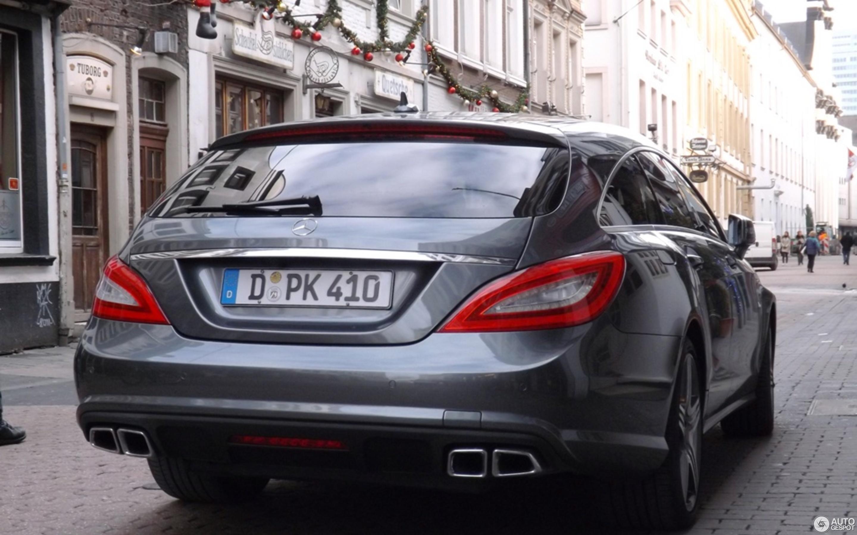 Mercedes Benz CLS 63 AMG X218 Shooting Brake 14 Dezember 2012