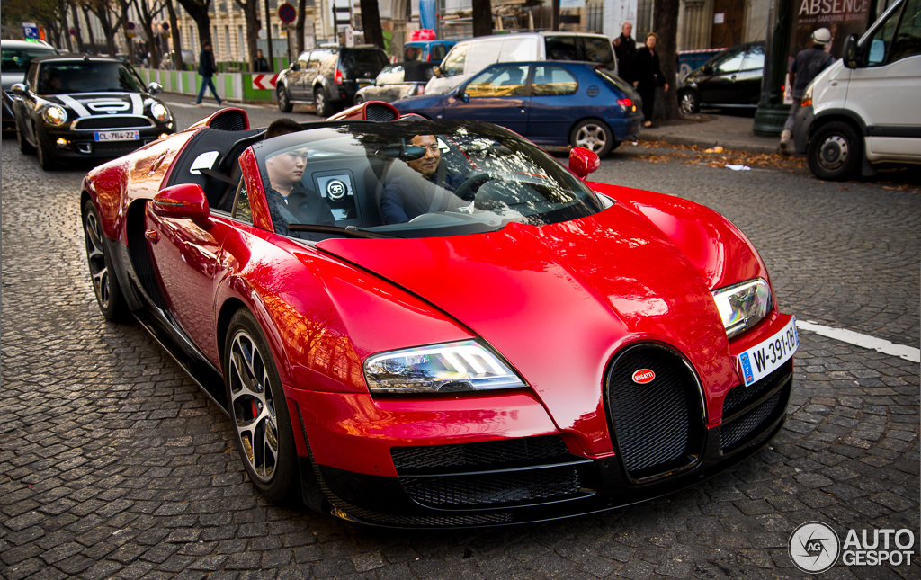 bugatti veyron 16 4 grand sport vitesse 24 dcembre 2012 autogespot. Black Bedroom Furniture Sets. Home Design Ideas